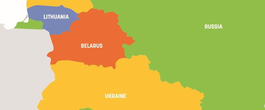 Koronawirus na Ukrainie, Litwie, Białorusi i w Rosji. Jak wygląda sytuacja?