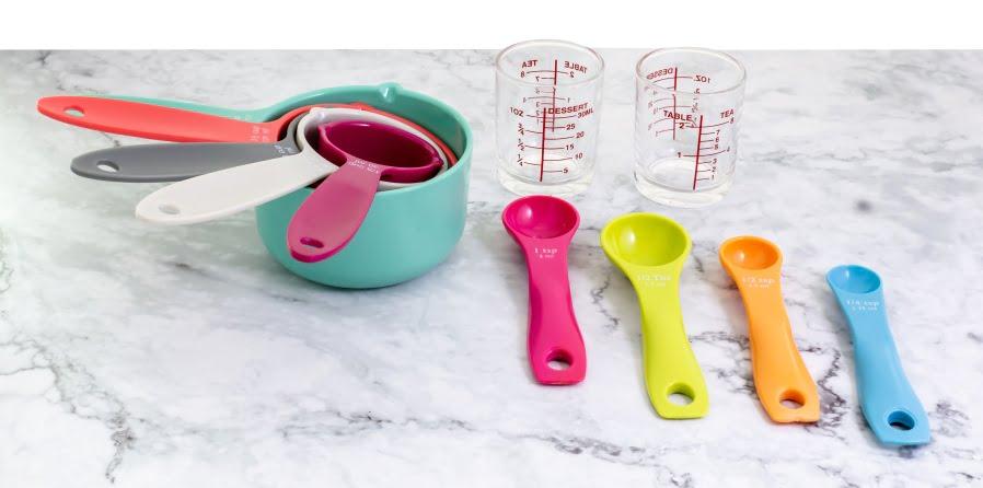 Przeliczniki wagowe i pojemnościowe przydatne w kuchni