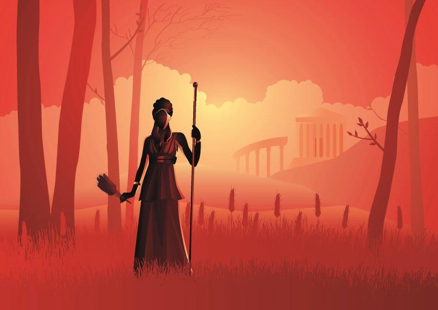 Mitologia grecka. Demeter i Kora – historia matczynej miłości