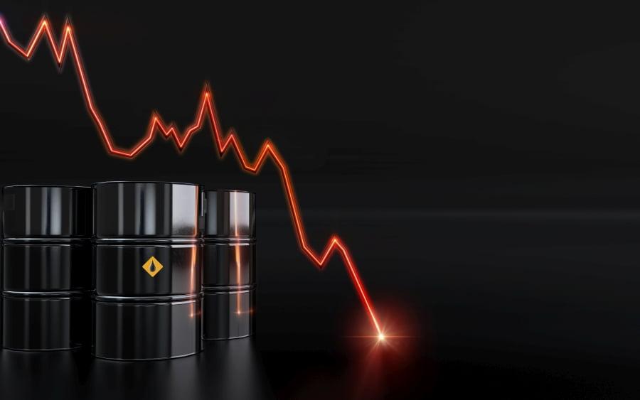 Cena za ropę poniżej zera. Jak to możliwe?