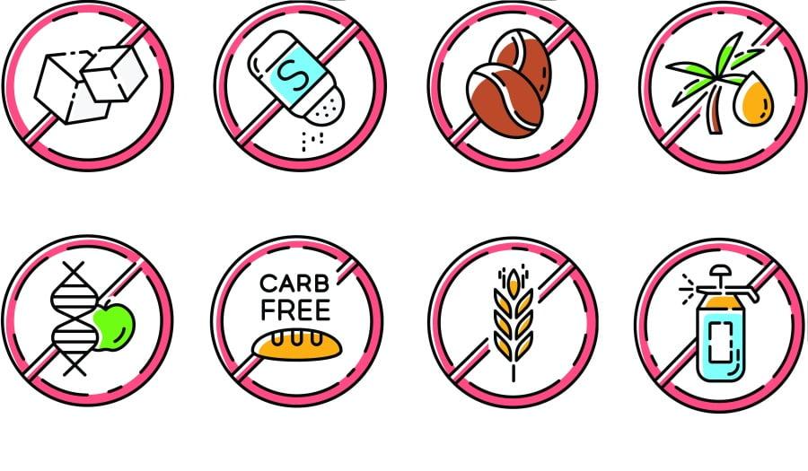 """Bez glutenu, laktozy, cukru. Czy produkty """"bez"""" zawsze są zdrowe?"""