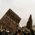 Protesty w Polsce w obronie praw kobiet