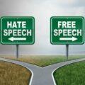 wolność słowa a mowa nienawiści to dwie różne drogi