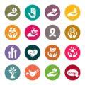Różne formy pomocy charytatywnej: