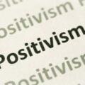 Strona zapisana wyrazami Pozytywizm